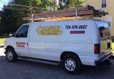 All Star Garage Door LLC van